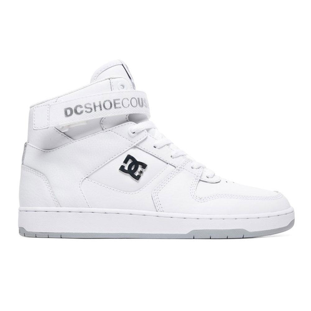 best website 101f5 ab0f8 Scarpe Alte Dc Shoes Pensford White