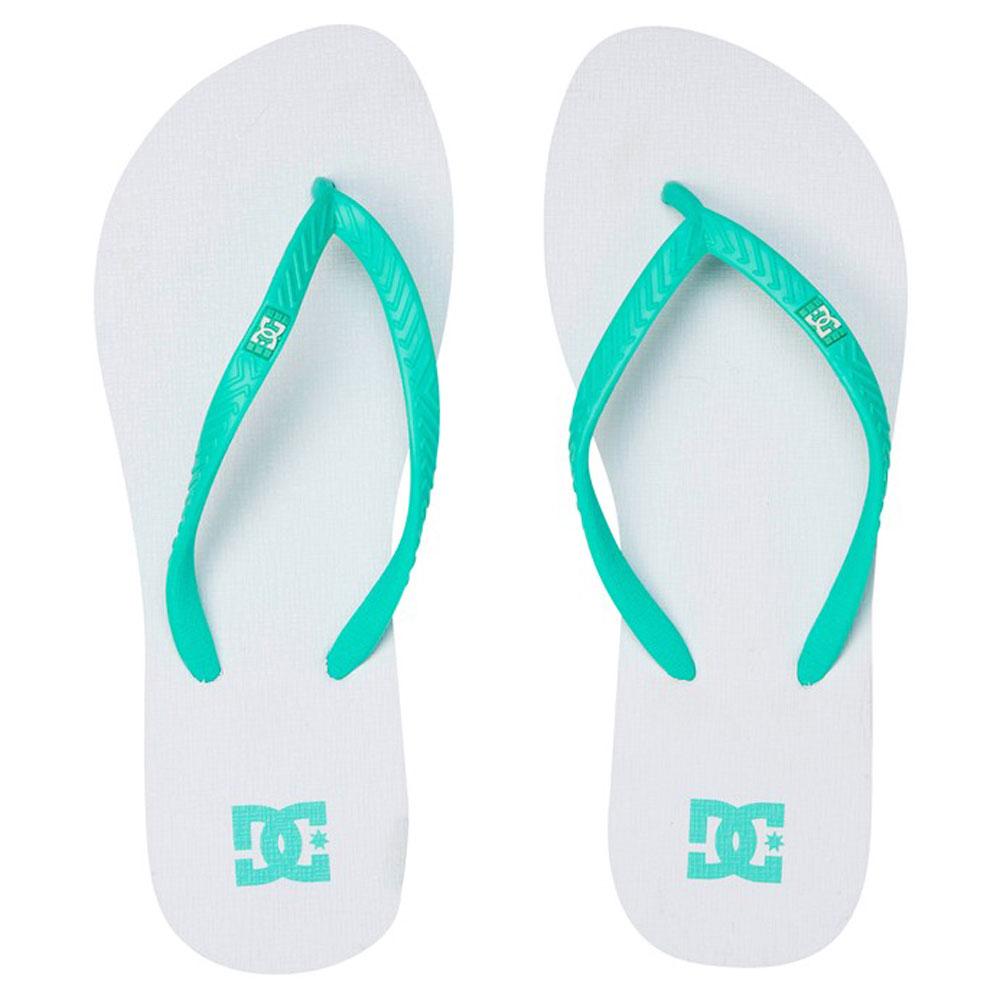 all'ingrosso online eccezionale gamma di stili e colori classcic Infradito DC Shoes Wo's Spray White Blue
