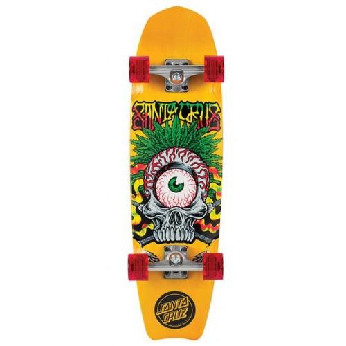 Santa cruz land shark rasta tribe cruiser skateboard - Tavole da snowboard santa cruz ...