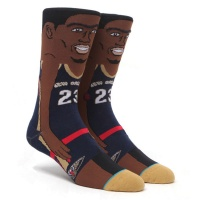 anthony_davis_nba_cartoon_navy_1