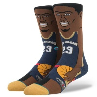 anthony_davis_nba_cartoon_navy_2