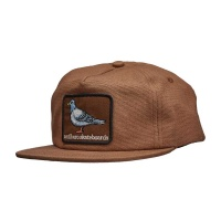anti_hero_pigeon_patch_snapback_hat_brown_1