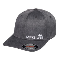 cappellino_quiksilver_sidestay_flexfit_black_heather_1