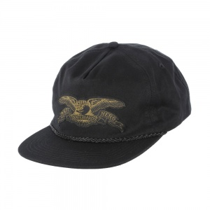 anti_hero_stock_eagle_patch_snapback_hat_black_olive_1