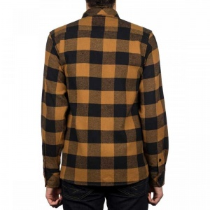 dickies_sacramento_ls_shirt_brown_duck_4