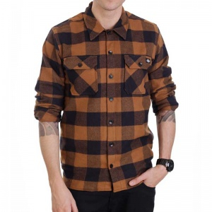 dickies_sacramento_ls_shirt_brown_duck_5
