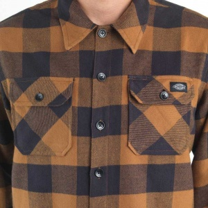 dickies_sacramento_ls_shirt_brown_duck_6