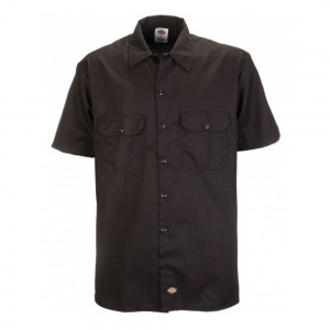 dickies_short_sleeve_slim_work_shirt_black_3