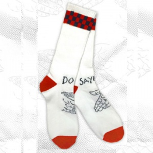 doom_sayers_snake_shake_checkerboard_socks_black_red_4