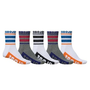globe_bueller_crew_socks_5_pack_multi