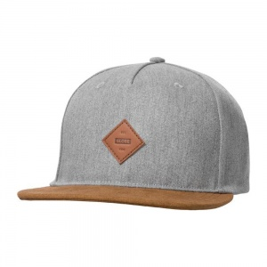 globe_gladstone_ii_snap_back_heather_grey_1