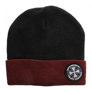 independent_beanie_itc_black_oxblood_1