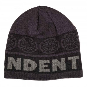 independent_beanie_woven_crosses_black_grey_2
