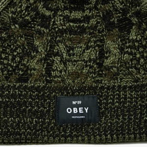obey_freja_cable_pom_beanie_forest_army_3
