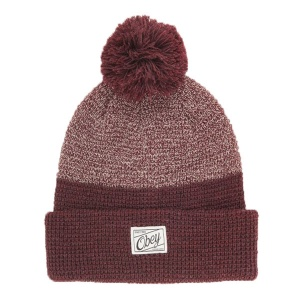obey_madison_beanie_woman_burgundy_1