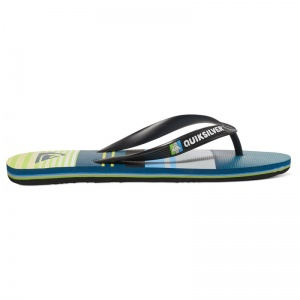 quiksilver_sandals_molokai_everyday_stripe_youth_black_green_grey_3