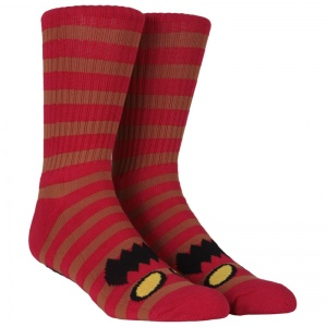 toy_machine_socks_monster_stripe_brown_red_1