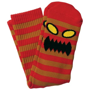 toy_machine_socks_monster_stripe_brown_red_2